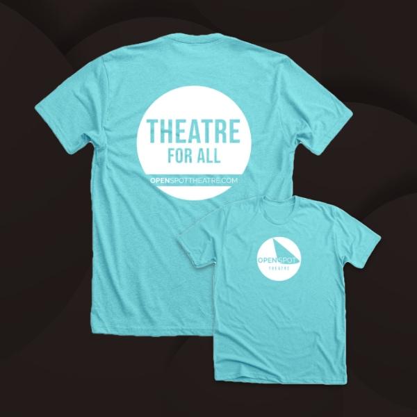 OpenSpot Theatre t-shirt